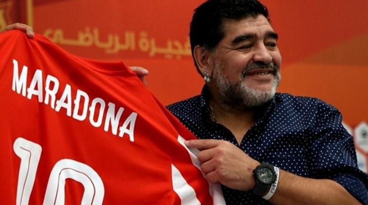 Марадона успокои феновете си, че е добре
