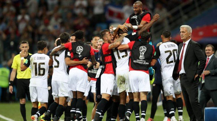 Швейцария стигна елиминациите след равен с Коста Рика (видео)