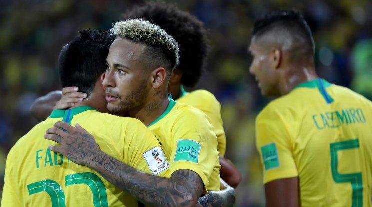 Бразилия надви Сърбия и ще играе с Мексико на 1/8-финалите (видео)