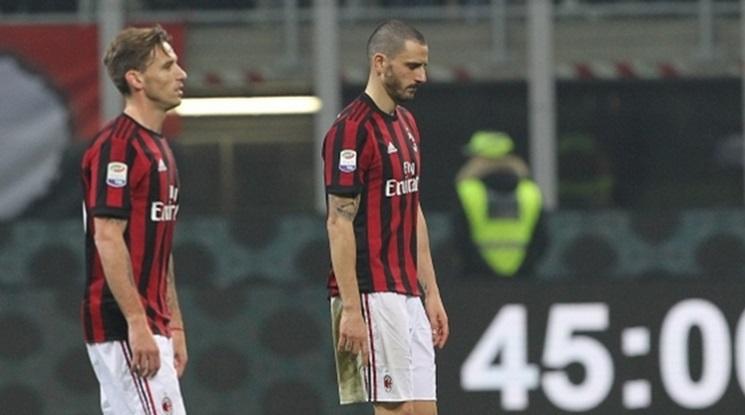 Милан ще обжалва наказанието си