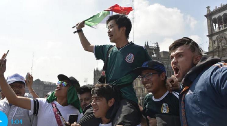 """В Мексико Сити: """"Ние всички сме корейци!"""""""