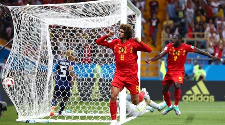 Велик обрат! Белгия разплака Япония с гол в последната секунда! (видео)