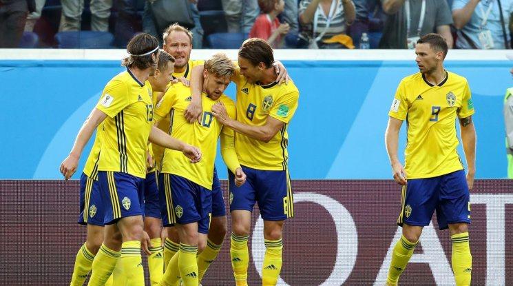 Един гол се оказа достатъчен на Швеция, за да преодолее Швейцария (видео)