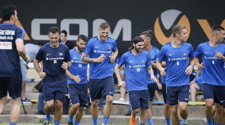 Левски представя отбора в четвъртък