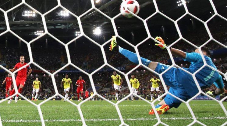 Англия счупи прокобата на дузпите и ще играе на 1/4-финалите на Мондиала (видео)