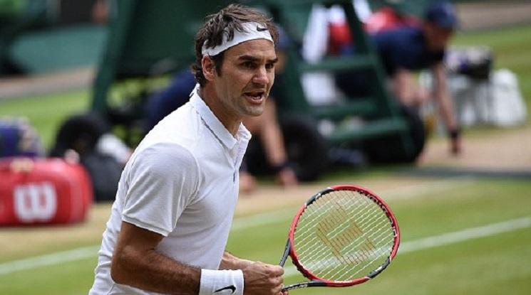 Федерер се класира за 16-ия си 1/4-финал на Уимбълдън