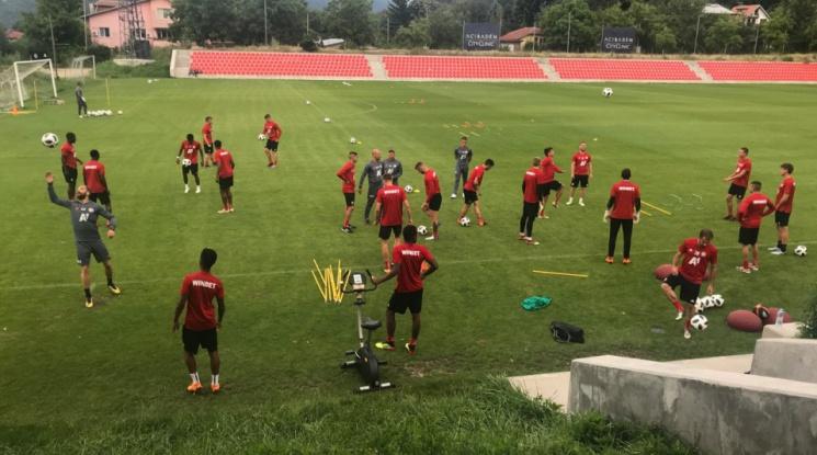 ЦСКА тренира усилено за мача с Рига