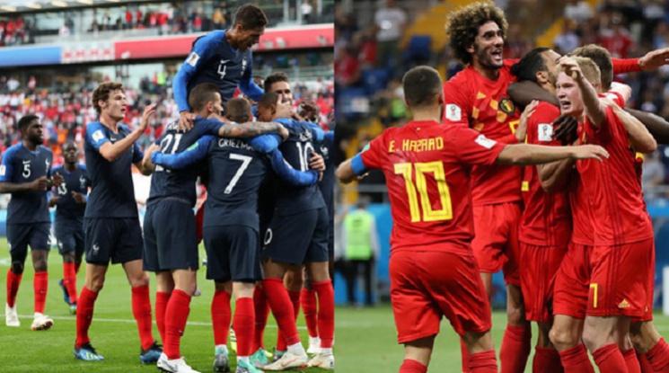 Франция е първият финалист на Световното първенство (видео)