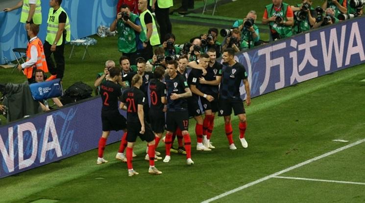 """Финал за """"шахматистите""""! Хърватия постави Англия на колене след продължения! (видео)"""