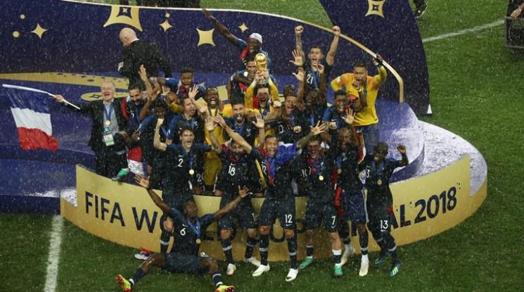 Франция е новият световен шампион! (видео)