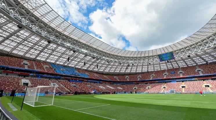 Финалът в Москва е втори по посещаемост през 21-и век