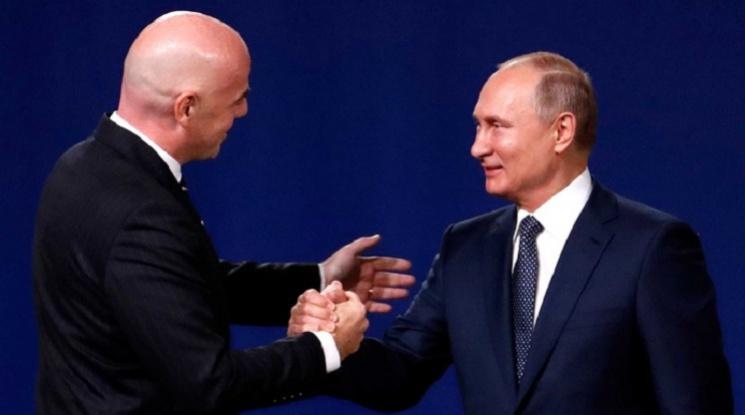 Инфантино: Време е да благодарим на Русия