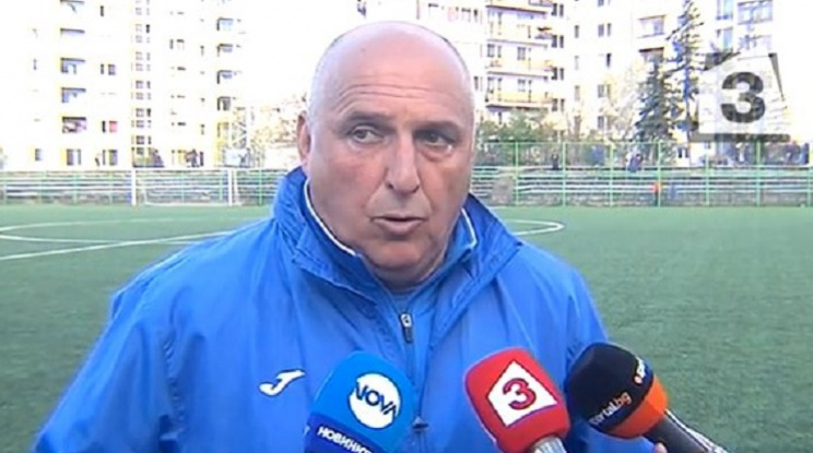 Левски назначи временен треньорски щаб