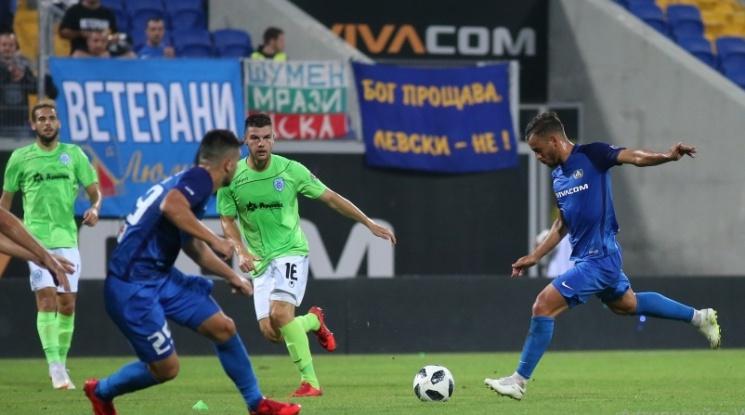 """Левски и Черно море поделиха точките в зрелищен мач на """"Герена"""" (видео)"""