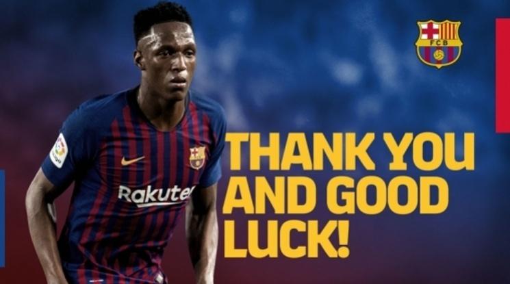 Официално: Барселона прати Мина и Гомеш в Евертън