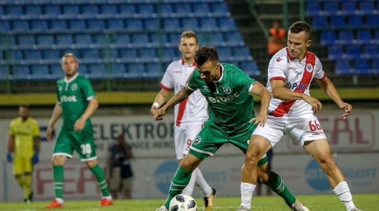 Лудогорец отстрани Зрински и продължава в Лига Европа (видео)