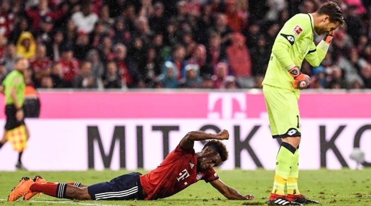 Коман получи сериозна травма на старта на Бундеслигата