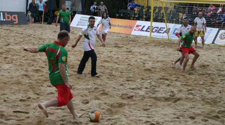 Станаха ясни съперниците на България на финалите в ЕВРОлигата по плажен футбол