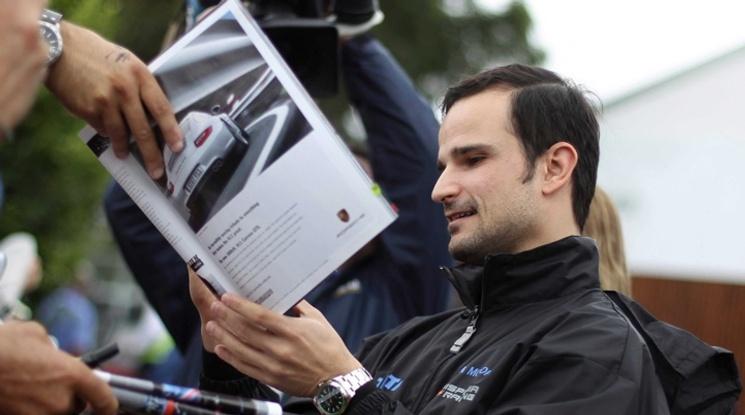 Бивш пилот от Формула 1 пристигна в България