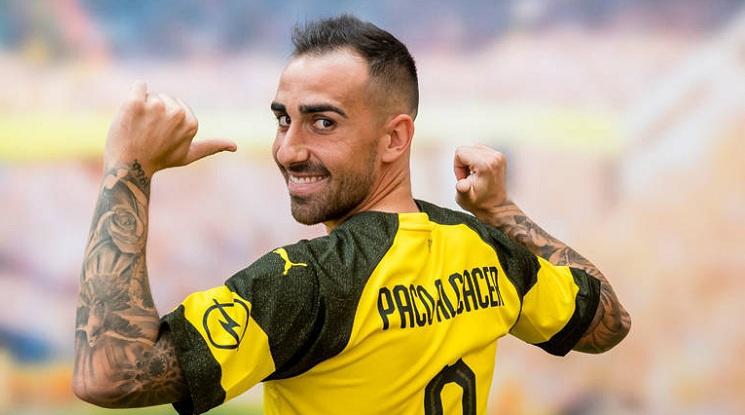 Официално: Дортмунд привлече Пако Алкасер