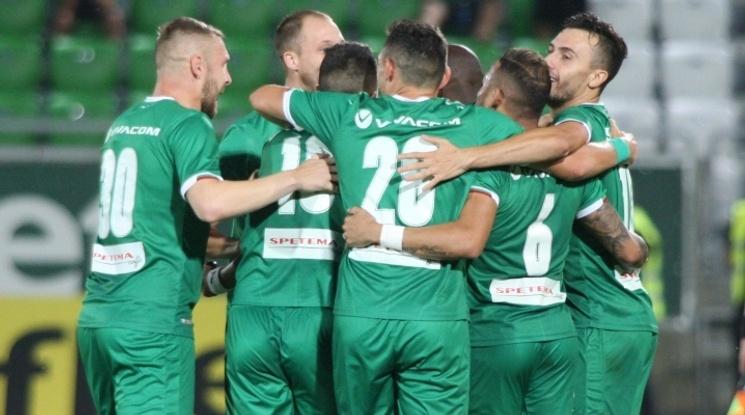 Лудогорец влезе в групите на Лига Европа с гръмка победа в Разград (видео)