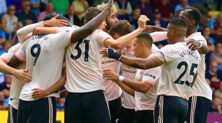 Лукаку донесе победата на Юнайтед срещу Бърнли (видео)