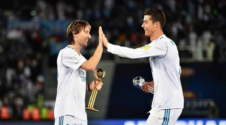Роналдо, Модрич и Салах в битка за наградата на ФИФА