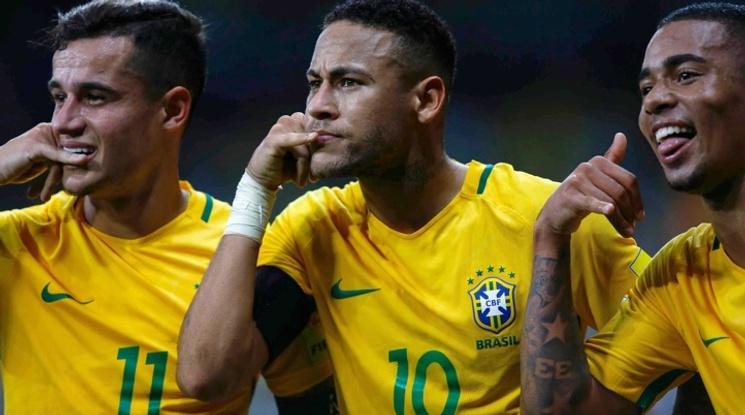 САЩ 0-2 Бразилия (репортаж)