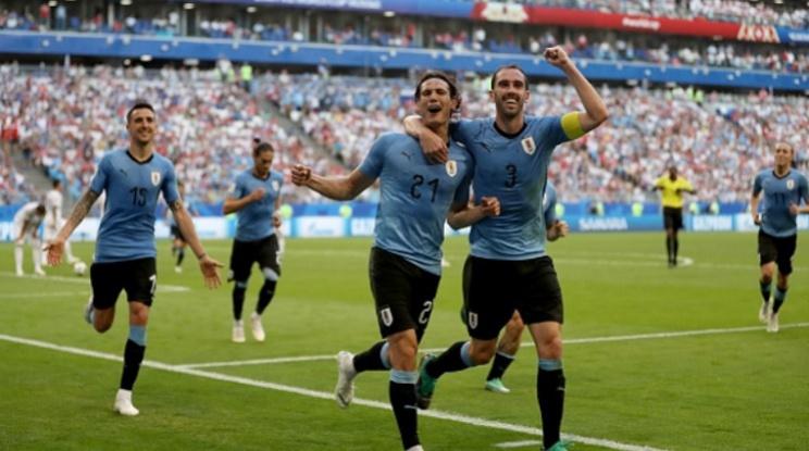 Мексико 1-4 Уругвай (репортаж)