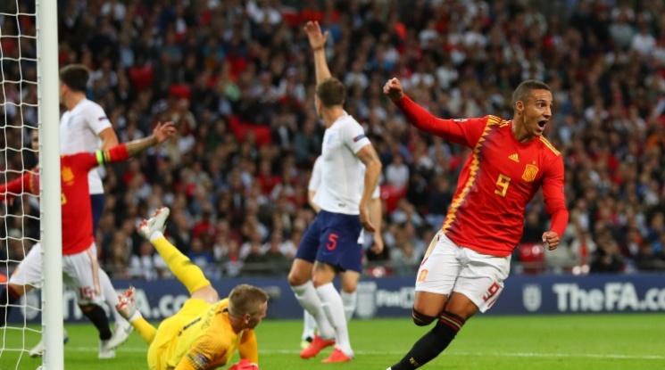 """Новата Испания наказа Англия насред """"Уембли"""" (видео)"""