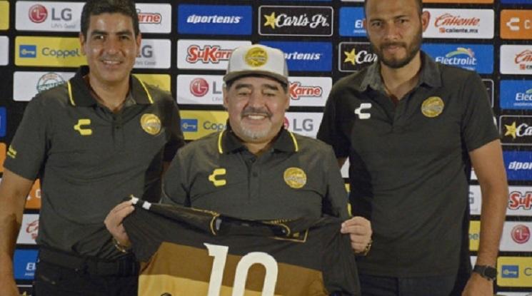 Представиха Марадона като треньор в Мексико