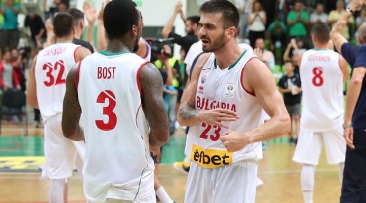 Чудовищен успех за българския баскетбол! Победихме Франция в Ботевград (видео)