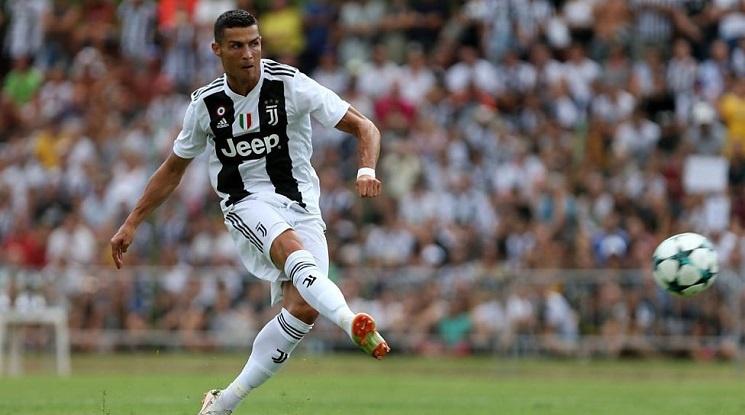 Роналдо търси първия си гол за Юве преди голямото завръщане в Испания