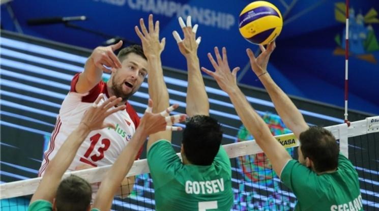 България загуби от Полша в последния си мач от груповата фаза