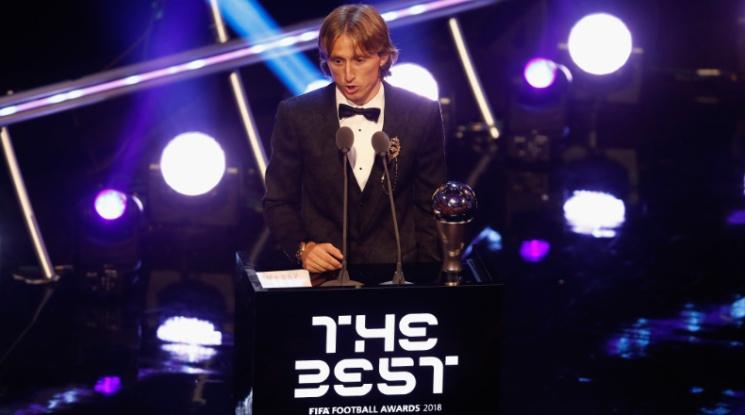 Лука Модрич е футболист №1 на ФИФА за 2018 г.! Вижте всички победители