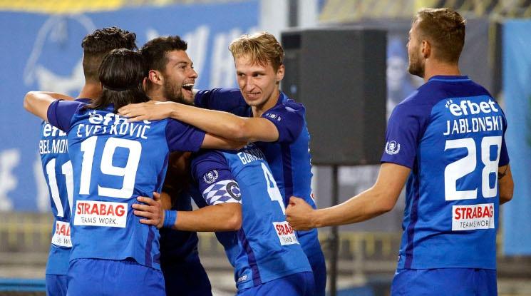 Два гола на Станислав Костов в дербито със Славия върнаха Левски на върха (видео)