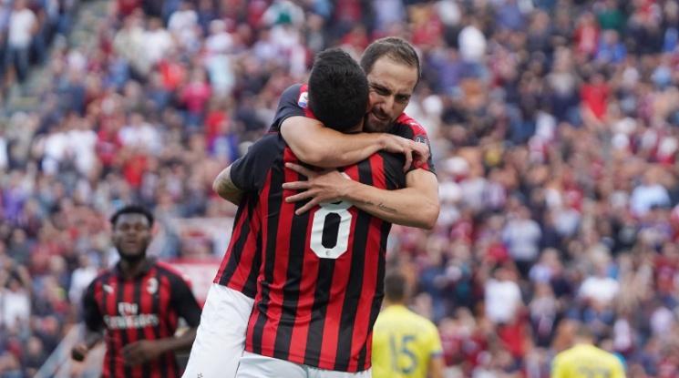 Милан влезе в серия от пет мача без загуба, Лацио победи Фиорентина (видео)