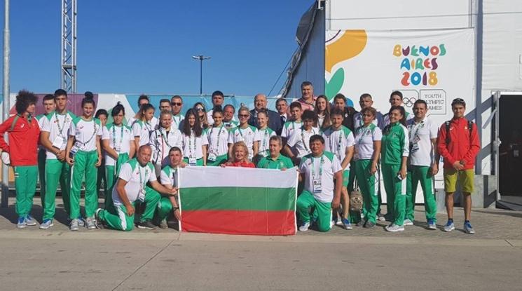 Двойката акробати и катерачът Петър Иванов на финал на Младежката олимпиада в Буенос Айрес