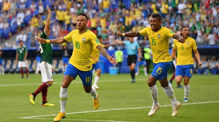 Бразилия ще играе контрола с Уругвай