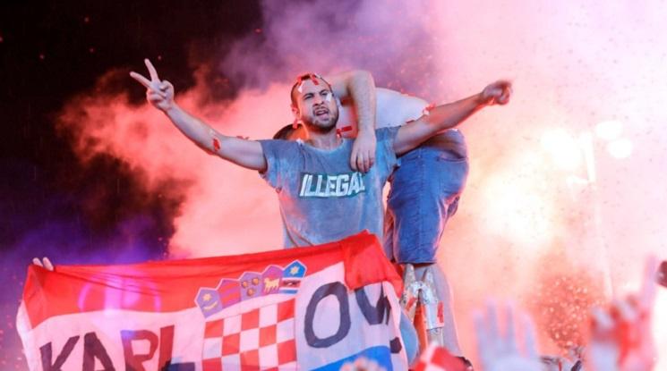 Хърватия без публика за мача с Англия