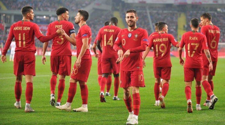 Португалия с втора победа в Лигата на нациите (видео)