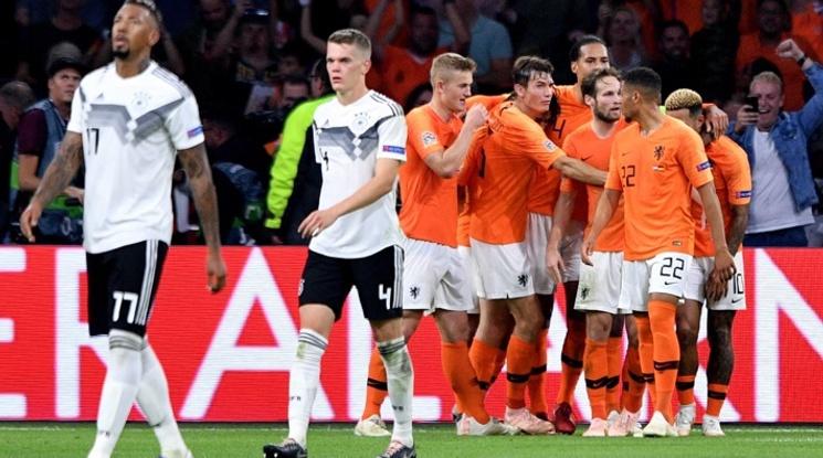Холандия направи Германия на пух и прах (видео)
