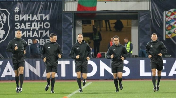 Съдии от Шотландия ще свирят Норвегия - България