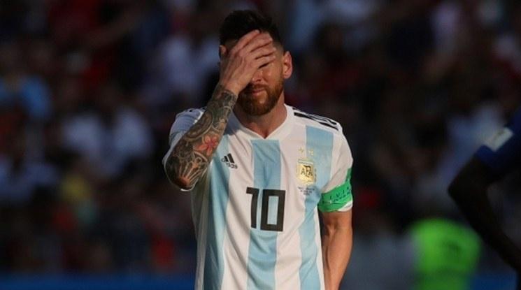 Аржентина остава без Меси за поне още един месец