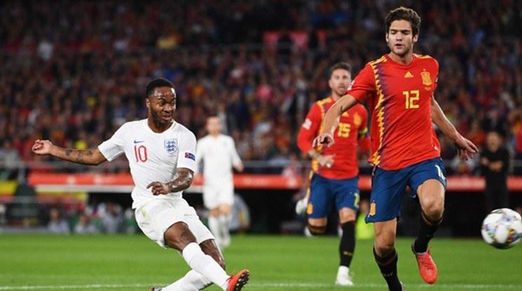 Англия нанесе на Испания първа домакинска загуба от 15 години насам (видео)