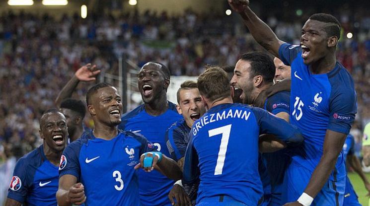 Гризман влезе в топ 10 на голмайсторите на Франция