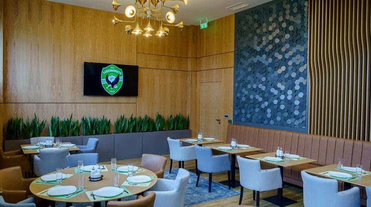Лудогорец отвори луксозен ресторант за тима