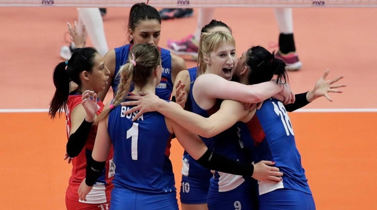 Волейболистките на Италия и Сърбия ще спорят за световната титла