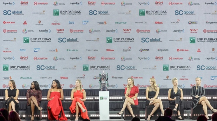 Станаха ясни групите за финалите на WTA в Сингапур