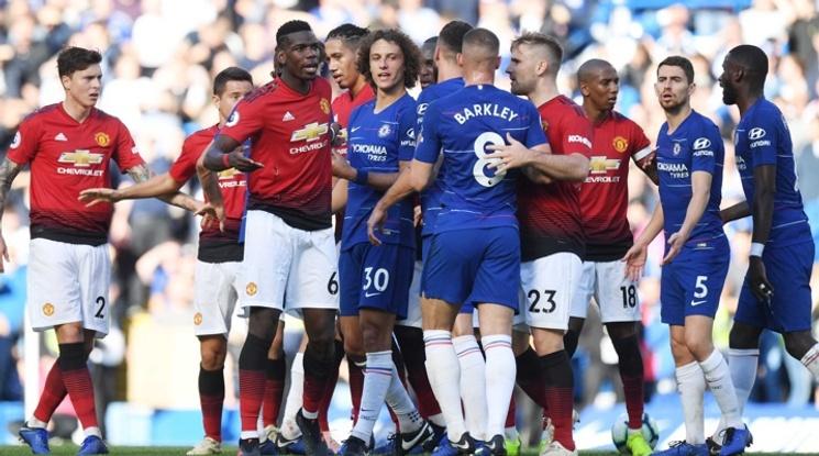 Челси и Юнайтед сътвориха зрелище в Лондон, сините оцеляха в последните секунди (видео)